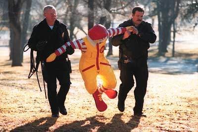 Ronald Busted