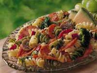Pepperoni and Bacon Pasta Salad